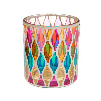 Small Stained Glass Candle Holders