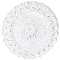 The Head Table Collection: Silver Clear Glass