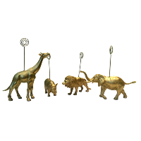 Party Animals Table Number Holders