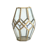 Brass/Gold Octagon Lantern