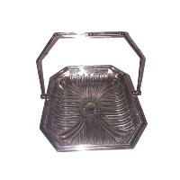 Silver Tray with Handle