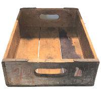 Vintage Wood 7-Up Box