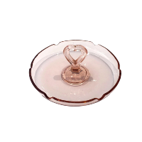 Small Pink Heart  Ashtray
