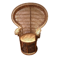 Rattan Peacock Chair #1