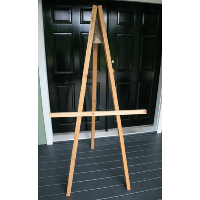 Rustic Basic Wood Easels