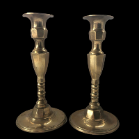 Brass Candlesticks #346
