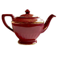 Vintage Garnet Teapot