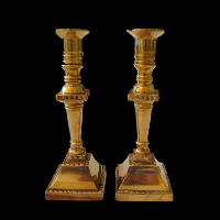 Brass Candlesticks #311