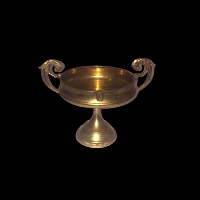 Brass Chalice with Handles