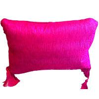 Brilliant Pink Oblong Pillows