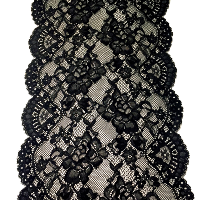 Black Lace Table Runners
