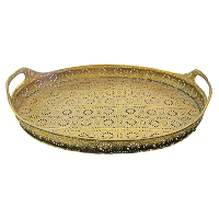Gold Medallion Tray
