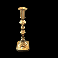 Stella Brass Candlestick
