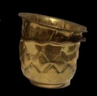 Round Brass Planter Pots - Variety