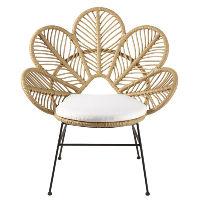 Rattan Flower Petal Chairs
