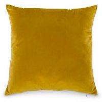 Mustard Yellow Velvet Pillows