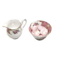 Tapestry Cream & Sugar Set