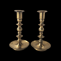 Brass Candlesticks #349
