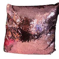 Pink/black Sequin Pillows