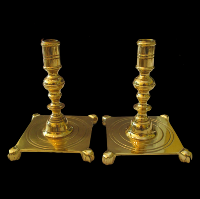 Brass Candlesticks #324
