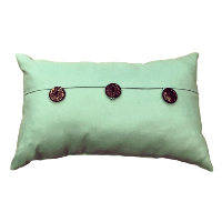 Carribean Blue/Green Pillow