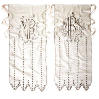 Mr. and Mrs. Cotton Chair Banners
