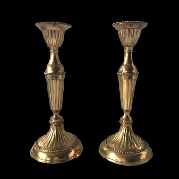 Brass Candlesticks #335