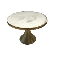 Gold Marble Stand