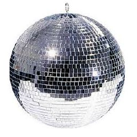 Rotating Disco Ball - Medium