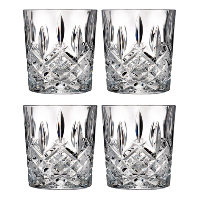 Waterford Crystal Doube Old Fashioned Glasses