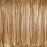 Gold Sequin Backdrop Curtain Service