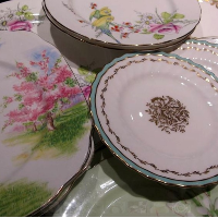 Vintage Fine English China Plates - Mixed Styles