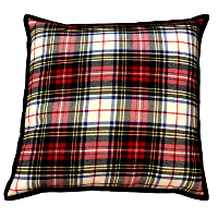 Red Tartan Pillows