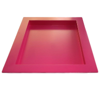 Large Square Pink Tray