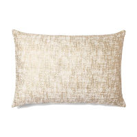 Metalic Gold and Ivory Pillows