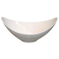 Large Winged White Bowl