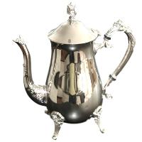 Silver Teapot #1