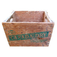 Vintage Canada Dry Box