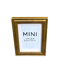 Mini Gold Standing Frames