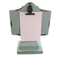Turquoise Mini Clipboard Stands