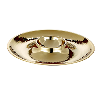 Glam Black and Gold Serving Platter
