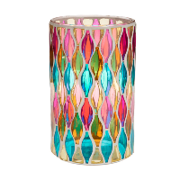 Medium Stained Glass Candle Holders