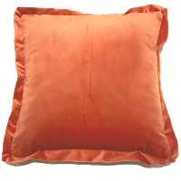 Happy Orange Pillow