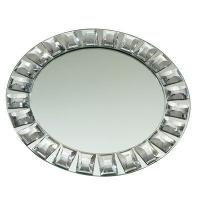 Diamond and Mirror Circle Plate