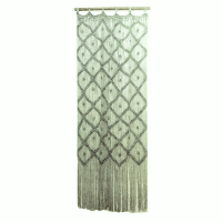 Green Macrame Backdrop