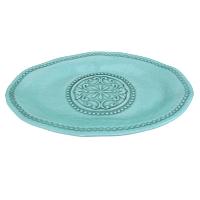 Turquoise Oblong Platter