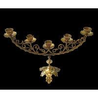 Brass Candelabra #610