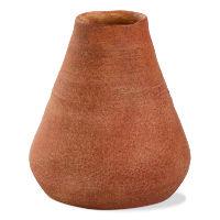 Terracotta Volcano Vase-for Dried Flowers