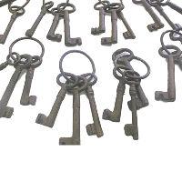 Old Looking Metal Keys