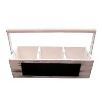 White Wood Box